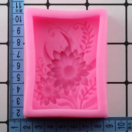 Silicone Handmade Tools Australia - Mujiang Flowers Grass Shape Silicone Molds Plants Handmade Soap Mold Cake Decorating Baking Tools Chocolate Gumpaste Moulds