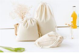 Discount pure linen cloth - Home cloth bag Clothes socks underwear shoes storage Sundry kids toy bag storage bags Pure color print cotton linen fabr