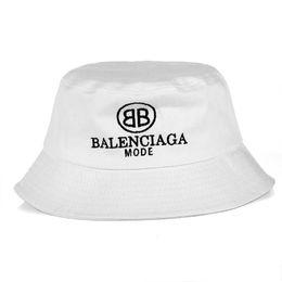 Womens Black Bucket Hat UK - New.2018 Fashion Baln Bucket cap Foldable Fishing  Caps a7689a308b