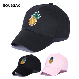 2105348b8b199 pineapple cap 2019 - 2018 Men Women Pineapple Dad Hat Baseball Cap Polo  Style Fashion Unisex