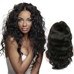 cheap peruvian virgin natural wave hair 2019 - Cheap Price Body Wave Human Hair Wigs Pre Plucked With Baby Hair 130% Density Unprocessed Virgin Hair Lace Front Wigs Na
