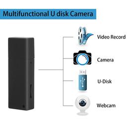 Audio Disks Australia - Portable U-Disk Camera Mini Nonporous U Disk Camera USB Flash Drive Camcorder Video Recorder with Audio Cam PQ231