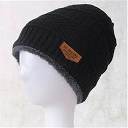 d07015fc8de93 Winter Sports Caps Cashmere Thickening Knitted Hats Man And Women Fashion  Designer Wool Warm Beanies New 11 6yb Ww