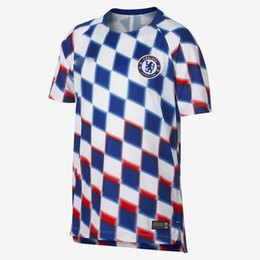 Top Thailand AAA+++2018 19 HAZARD Soccer Jerseys Grizzman shirt KUN AGUERO  psg shirt MBAPPE HAZARD Man C football training uniform d9ecd30b6