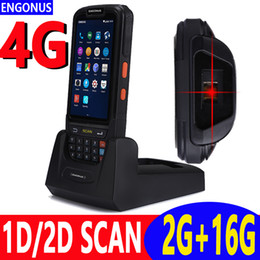 barcode reader android 2019 - 2018 New Arrival Tassimo Scanners Portable Pda Barcode Wireless 2d Scanner Rfid Laser Nfc Android Rugged Bar Code Reader