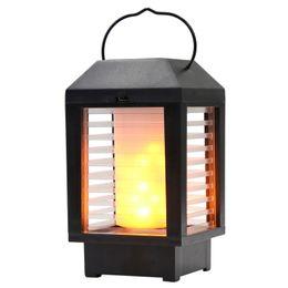 Wall lantern lamp online shopping - Outdoor Portable Lantern Solar Powered LED Light Garden Path Wall Light Decor Security Lamp hours NNA327