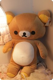 $enCountryForm.capitalKeyWord NZ - 80cm Japanese Kawaii Brown Rikakkuma Plush Toy, Giant Teddy Bear Rilakkuma Bear, Rilakkuma Big Plush Bear Stuffed Animal Doll
