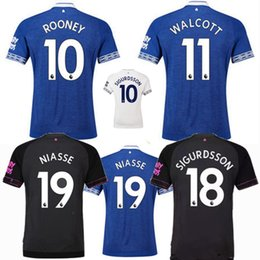 Thai quality 2018 2019 Walcott everton soccer jerseys 18 19 everton home  SIGURDSSON CENK TOSUN FUNES MORI away 3rd Football uniforms shirts 24a3d2b5b