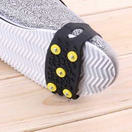 Anti Slip Snow Ice Climbing Spikes Grips Crampon Cleats 5-Stud Shoes CoverHigh Quality 2018 Новое прибытие