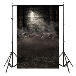 Discount scenic backdrop brick wall - 3x5FT Ruins Printing brick wall Photography Backdrops photo Studio Props Vinyl Photography background cloth 90 x 150cm
