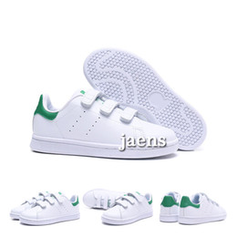 Discount clear baby - eur22-35 Baby Kids shoe For children boys girls Kawakubo indoor outdoor boy girl green pink white black stan smith samba