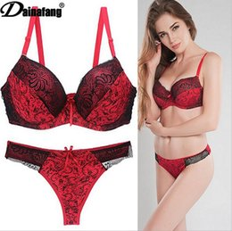 a432536d2d7 Foreign Trade Goods Source Sexy Bra Suit Lace Printed Underwear Large Size  Underwear Set