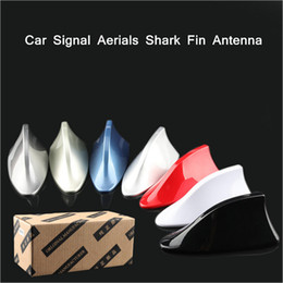 radio antenna auto NZ - Car Shark Fin Antenna Auto Radio Signal Aerials Roof Antennas for peugeot OPEL Ford KIV Mitsubishi Renault SSANGYON Car Styling