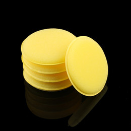 Foam wax pad online shopping - 12 Universal Fashion Waxing Polish Wax Foam Sponge Applicator Pads For Clean Cars Vehicle Car Cleaning Tool