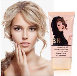 Nude Makeup Bb NZ - NEW 2018 HABIBI BEAUTY Explosion Moisturizing Concealer BB Cream Quality nude Makeup Liquid Foundation Cosmetics Support Wholesale