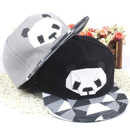 Animal Snapback Australia - 2018 Summer New Cartoon panda Adjustable  Baseball Caps Snapback Hats For youth 83e5b795f9c