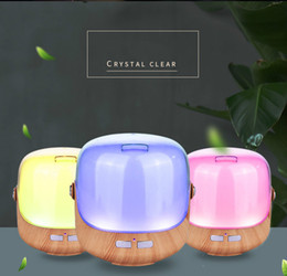 $enCountryForm.capitalKeyWord Australia - Portable 250ML Mini Portable Aromatherapy Essential Oil Diffuser 7 Color Changing LED Night Light Lamp Air Humidifier Desktop Diffuser