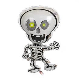 $enCountryForm.capitalKeyWord UK - Cartoon Dancing Skeletons halloween foil balloons skull cheap Halloween Party decoration balloon kids Helium globos inflatable toys
