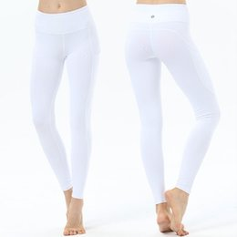 Athletic pAnts for women online shopping - Yoga Pants Leggings Running Tights Athletic Clothes Sport Gym Fitness Pants Quick Dry Sportswear For Women DHL Shipping