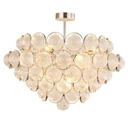 Objective Nordic Vertical 3 Light Glass Globe Lustre Chandelier Sofa Side Luminarias Led Pendant Chandelier Indoor Suspend Lamp Fixtures Ceiling Lights & Fans Chandeliers