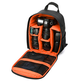 smallest dslr 2019 - High Quality Camera Bag DSLR Digital New Multi-functional Small Video Backpack Waterproof Outdoor Camera Bag cheap small