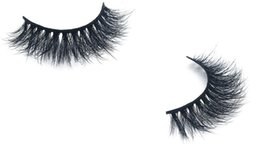 top false eyelashes Canada - Hot 3D Mink Beauty False Eyelashes Top quality 100% 3d Mink eyelash handmade wholesale product Private lable big eyes secret GR266