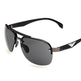 Wholesale Lense Glasses Australia - 2018Brand Designer Polarizerd Sunglasses Men Glass Mirror Green Lense Vintage Sun Glasses Eyewear Accessories Oculos UV400