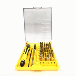 Universal phone repair kit online shopping - 45 in Manual screwdriver repair pry kit Cell Phone Repairing Tools lcd screen separator laptop Disassemble tool kit