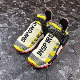 factory authentic 65f94 fbcdb Authentic 2018 NMD HUMAN RACE TRAIL SOLAR PACK Running Shoes Men Women  Black Core Black Red Sneakers Sports With Original Box BB9531 US 5-13