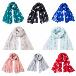 864c63a4b9271 8 Colors Unicorn Scarf European and American Style Warm Scarves Pony Print  Long Design Vintage Scarf Outdoor Sunscreen Shawl CCA10527 30pcs