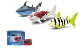 $enCountryForm.capitalKeyWord UK - Mini RC Shark Under Water Coke Zip-top Pop-top Can RC Shark Fish 4CH Radio Remote Control Fish 3-Colors 3310B RC Toy for Kids