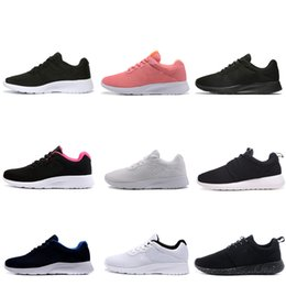 Discount run sales - Hot sale tanjun men women running shoes London 3.0 1.0 Triple black white blue red Olympic mens trainers sports shoes sn