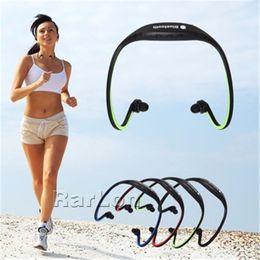 Speaker Ear Australia - Best Bluetooth Headphones S9 Wireless Stereo Headset Sports Bluetooth Speaker Neckband Earphone Hifi Music Player With Retail Package