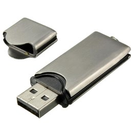 flash drive storage 2019 - 32GB USB 2.0 Metal Key Flash Drive Memory Disk Storage WIN 7 10 PC cheap flash drive storage