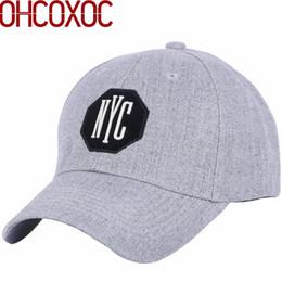 f607289810737 Hombres mujeres sombrero simple casquillo de béisbol ocasional cinta de  sujeción de tamaño ajustable material de acrílico gris sólido casquette  gorras al ...