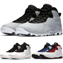 pretty nice 83483 8562e Designer 10 10s Mens Cement Westbrook PE Top Trainers Basketball Shoes I m  Back Black White Blue Red Men Athletic Sport Sneakers Size 41-47