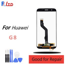 touch screen panel price Australia - OEM No Dead Pixel for Huawei G8 LCD Display Touch Digitizer Screen Replacement Wholesale Price 100% Tested Free Shipping