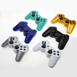 PS3 Wireless Bluetooth Game Controller 2.4GHz 7 цветов для Playstation 3 Control Джойстик Gamepad Top Sal