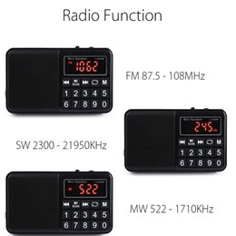 $enCountryForm.capitalKeyWord NZ - FM MW SW Radio Stereo Speaker Multifunctional TF Card USB Aux PC Mobile Phone LCD Screen Portable MP3 Music Player Rechargeable