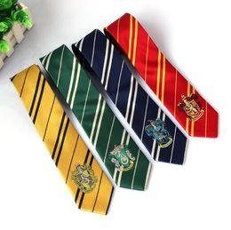 venda por atacado Harry Potter Ties Acessórios De Vestuário Borboleta Gravata Ravenclaw Hufflepuff Gravata Hogwarts Listra Laços 4 design