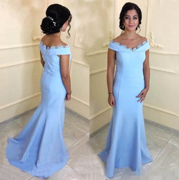 8cb68b688bb Elegant Long Mermaid Mother Of The Bride Dresses For Womens 2018 Capped  Sleeve Lace Satin Wedding Guest Dress Arabic Party Evening Gowns
