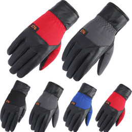 gloves motorcycle motorbike 2018 - 2PCS pair 4 colors Winter Men wommen Gloves Casual Touch Screen Warm motorcycle Moto Racing Gloves Cool Bicycle Cycling