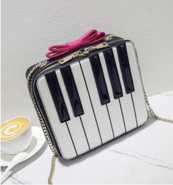 small double zipper bag Australia - 2018 new woman Korean fashion Stitching double zipper Piano bag bow chain small square bag hit color shoulder Messenger bag