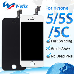 Touch screen lcd iphone 5s online shopping - High Quality LCD Display For iPhone S C Touch Screen Digitizer Full Assembly Replacement Repair Parts DHL