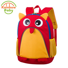 $enCountryForm.capitalKeyWord Canada - Rainbow Baby Adorkable Owl Kids Babys Bags Wearable Breathable Ultra -Light Waterproof Child 'S Snack Toys Backpack School Bags