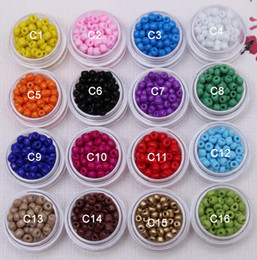 4 мм стеклянные бусины, сплошной цвет, много цветов для выбора ювелирных изделий DIY изготовление бисера продается за 100 г бесплатная доставка