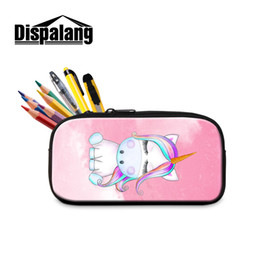 $enCountryForm.capitalKeyWord UK - Dispalang Unicorn Girls Pencil Bag Women Cosmetic Bag School Office Supplies Stationery Cute Makeup Bags Pencil Box