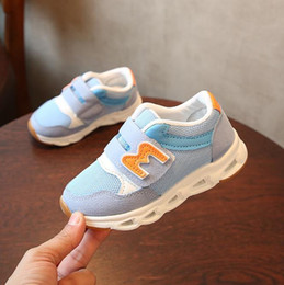 best boys sneakers 2019 - Baby best-selling New brand cool Elelight baby casual shoes rubber sports running tennis girls boys sneakers cool cheap