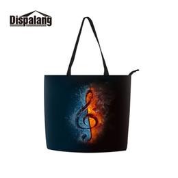 $enCountryForm.capitalKeyWord NZ - Dispalang Girl Bolso on Wheels Material 100% Eco-friendly Big Size shopper Bag for Ladies Accept Customized Photo Music Printing