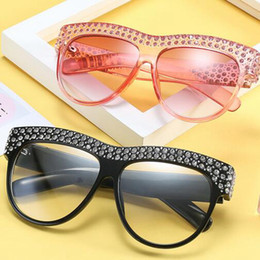 8b93a09ded Royal Girl Women Sunglasses Vintage Designer with Crystal Diamond Frame  Several Colors Classic Design Glasses LJJD8